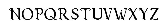 Vecna Font LOWERCASE