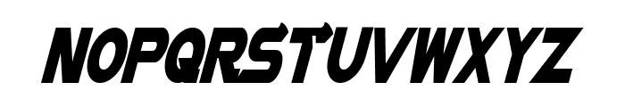 Vector Sigma Condensed Italic Font UPPERCASE