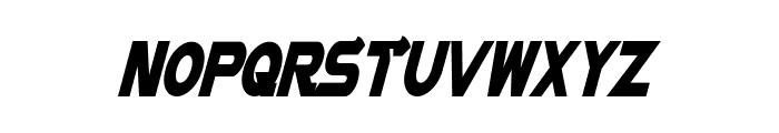Vector Sigma Condensed Italic Font LOWERCASE