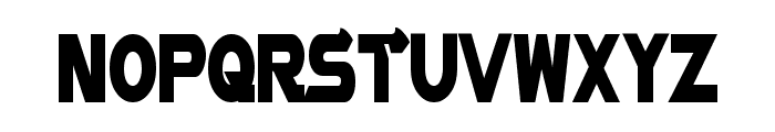 Vector Sigma Condensed Font UPPERCASE
