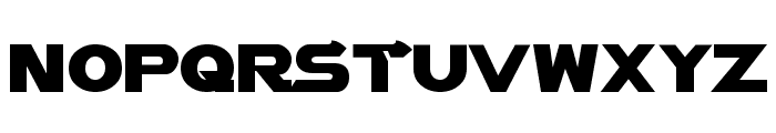Vector Sigma Font UPPERCASE