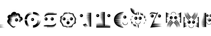 VectorPaintigs Font UPPERCASE