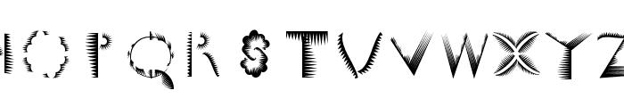 VectorPaintigs Font LOWERCASE