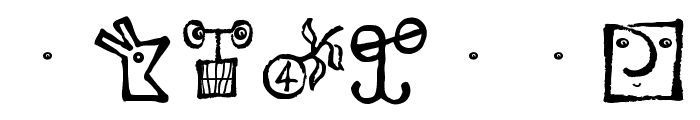 VectorizedSignets Font OTHER CHARS