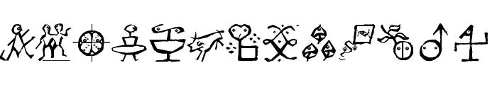VectorizedSignets Font UPPERCASE