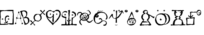 VectorizedSignets Font LOWERCASE
