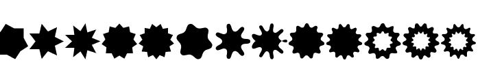 VectoryStarFrames Font UPPERCASE