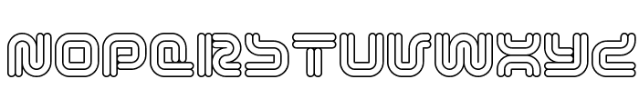 Vectroid Astro Font UPPERCASE