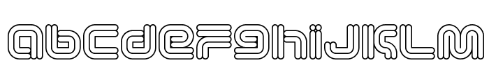 Vectroid Astro Font LOWERCASE