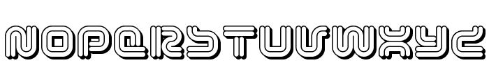 Vectroid Cosmo Font UPPERCASE