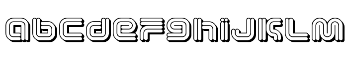 Vectroid Cosmo Font LOWERCASE
