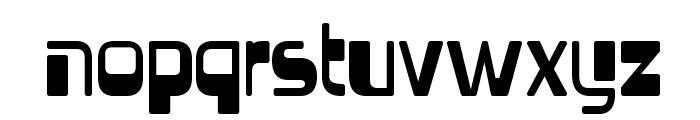 Vectroid-Regular Font LOWERCASE