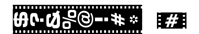 Vedette Noire Font OTHER CHARS