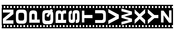 Vedette Noire Font UPPERCASE