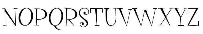 VegacuteDEMO Font UPPERCASE