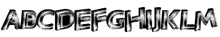 VegasNeon Font UPPERCASE