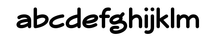 Veggieburger-Bold Font LOWERCASE
