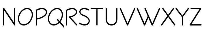 Veggieburger-Light Font UPPERCASE