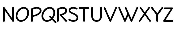 Veggieburger Font UPPERCASE