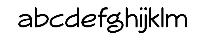 Veggieburger Font LOWERCASE