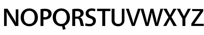 Vegur-Medium Font UPPERCASE