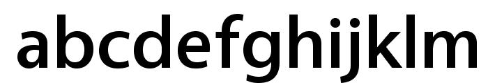 Vegur-Medium Font LOWERCASE