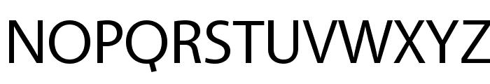 Vegur-Regular Font UPPERCASE