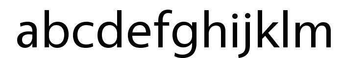 Vegur-Regular Font LOWERCASE