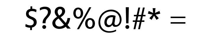 Vegur Font OTHER CHARS