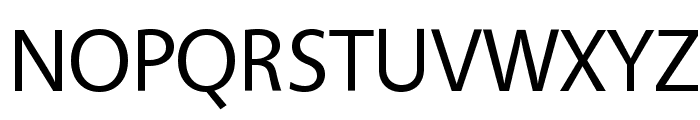 Vegur Font UPPERCASE