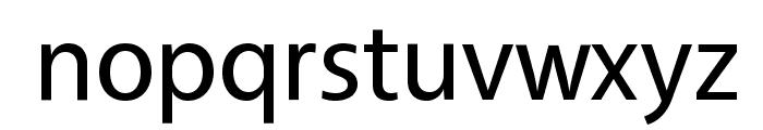Vegur Font LOWERCASE