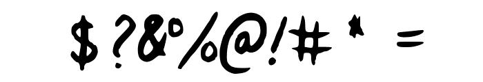 Veila Medium Font OTHER CHARS