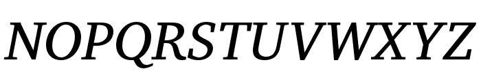 Veleka-Italic Font UPPERCASE