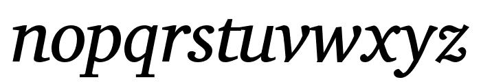 Veleka-Italic Font LOWERCASE