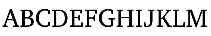 Veleka-Regular Font UPPERCASE