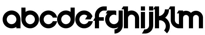 Velocity Font LOWERCASE