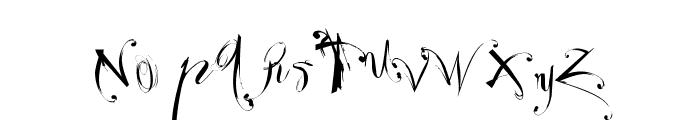 Velour Font UPPERCASE