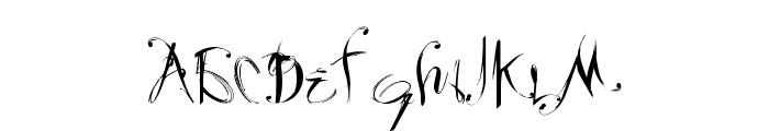 Velour Font LOWERCASE