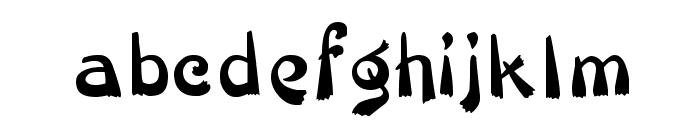 Veluvana Font LOWERCASE