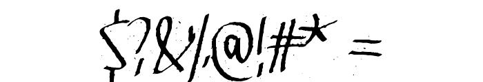 Velvet Dream Font OTHER CHARS