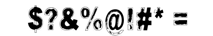 Velvet Queen Font OTHER CHARS
