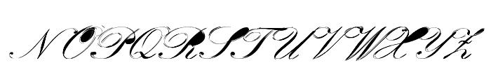 Velvet Font UPPERCASE