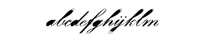 Velvet Font LOWERCASE
