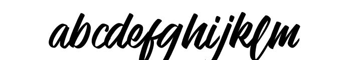 Venetian Font LOWERCASE