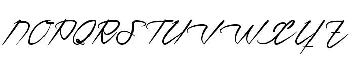 Ventilla Script Font UPPERCASE