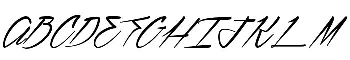 Ventilla Stone Font UPPERCASE
