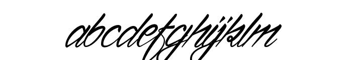 Ventilla Stone Font LOWERCASE