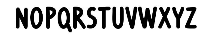Ventura Edding Bold Font LOWERCASE