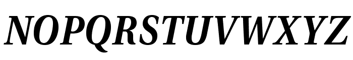 VenturisADF-BoldItalic Font UPPERCASE