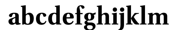 VenturisADF-Bold Font LOWERCASE